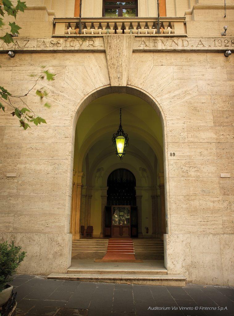 20) AUDITORIUM (V. Veneto aperto)